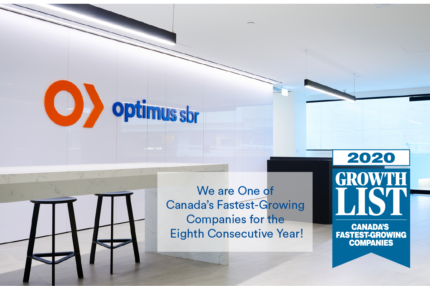 We are One of Canada's Fastest Growing Companies for the Eighth Consecutive Year!